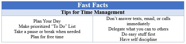 Fast Facts Time Management