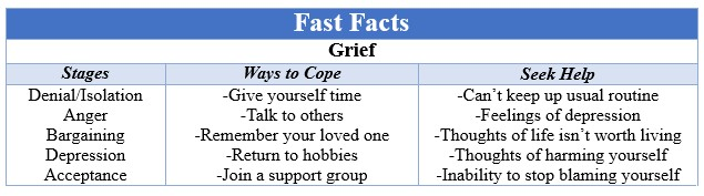 Fast Facts Grief